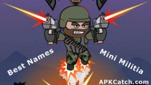 Unique 200+ Best Mini Militia Avatars Names – Cool/Funny/Danger