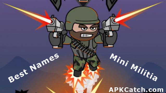 Mini Militia Avatars Names