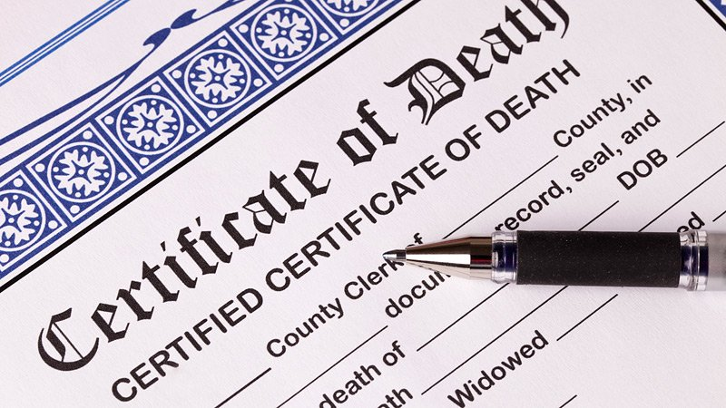 Obtaining Copies of the Death Certificate