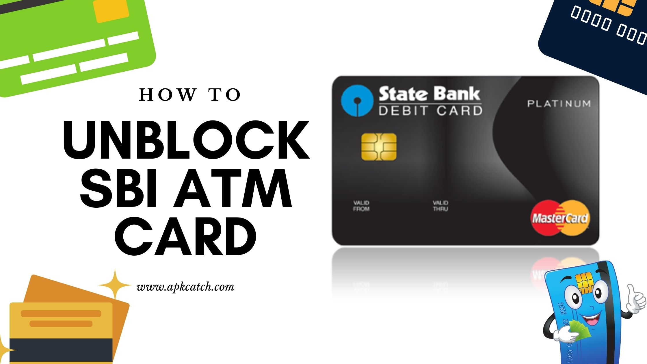 How to Unblock SBI ATM Card