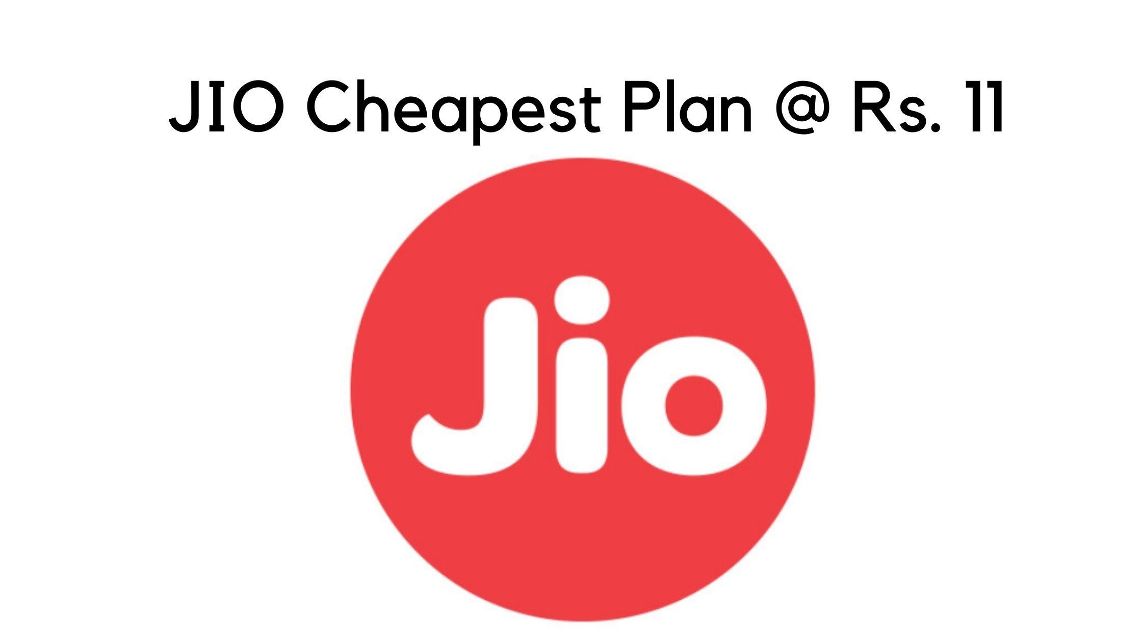 JIO Cheapest Plan