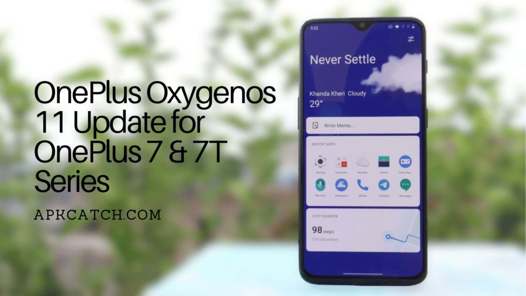OnePlus Oxygenos 11 Update for OnePlus 7 & 7T Series