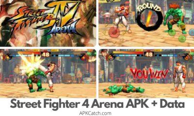 Street Fighter 4 Arena APK