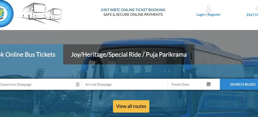 WBTC Ticket Booking App